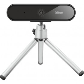 Camera web Trust Tyro, FullHD 1080p, Autofocus, Microfon, USB, Tripod inclus